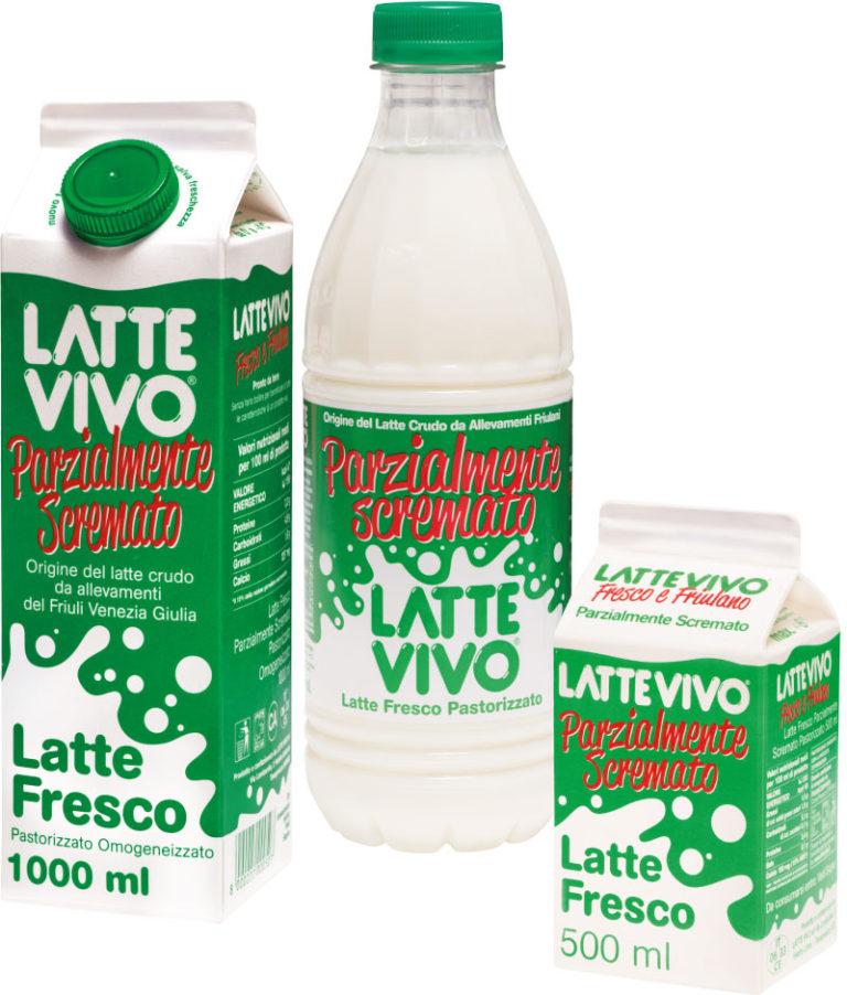 latte parzialmente scremato lattevivo